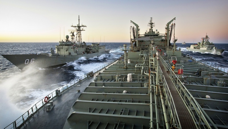 Royal Australian Navy Tests Itself in West