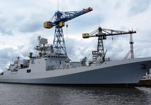 Tarkash fragata INS inicia los ensayos del Mar