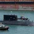 BSF Sub Alrosa Heads for Homebase in Sevastopol, Russia