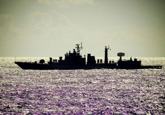 Chinese Destroyer Qingdao Arrives at Sevastopol