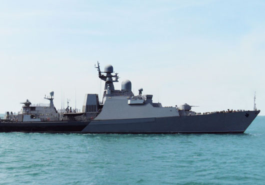 Corvette Dagestan Ready to Join Navy