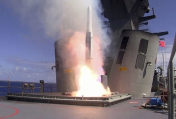 HMAS Perth Put to Rigorous Test amid Firing Serial at RIMPAC 2012