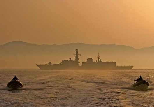 Royal Navy Gibraltar Squadron Busy with Exercises