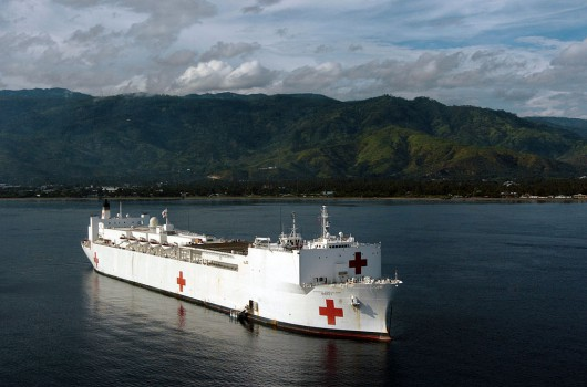U.S. Army Helps Pacific Partnership 2012 Mission