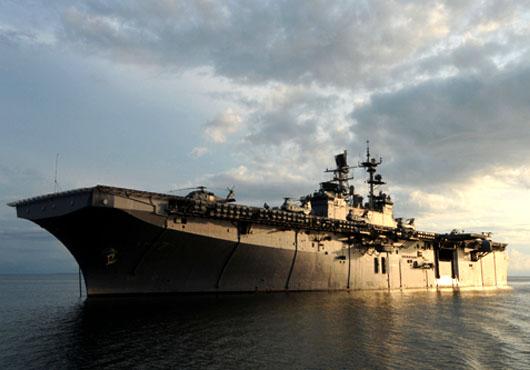 USS Iwo Jima Celebrates Halfway Point