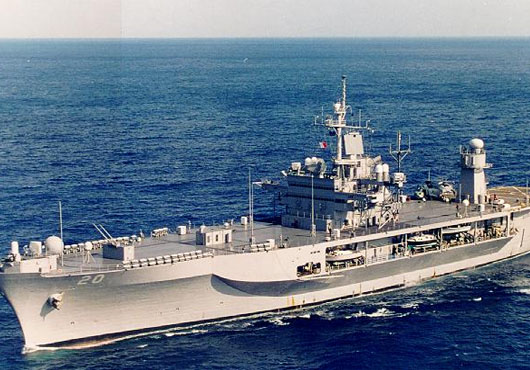 USS Mount Whitney Arrives in Theoule-sur-Mer, France